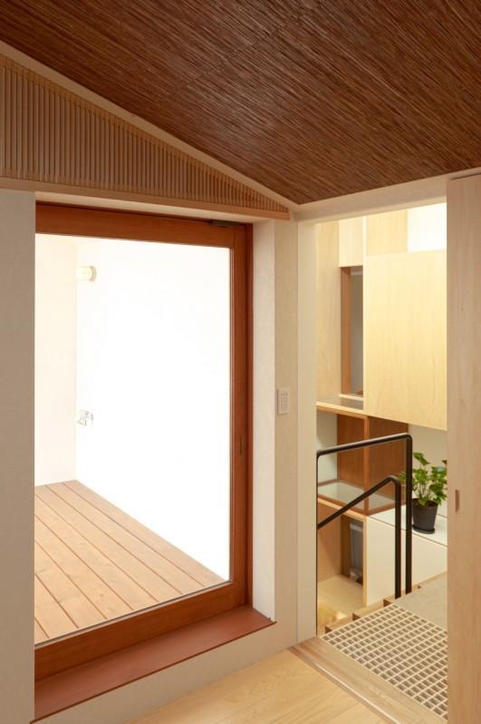 Daidou no ieの部屋 ベランダに繋がる空間