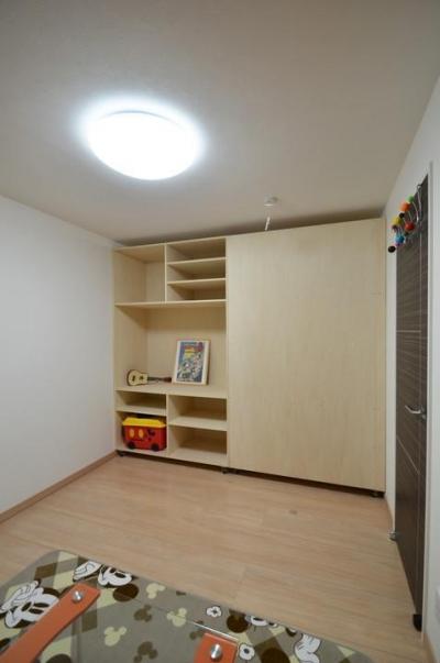 屯田リノベーションSTUDIO/常設モデルハウス (子供部屋)