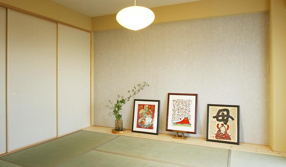 手触り、肌触りが五感を癒す、優しい住まいの写真 落ち着きのある和室