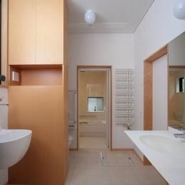 富士見台の家 (洗面台・浴室)