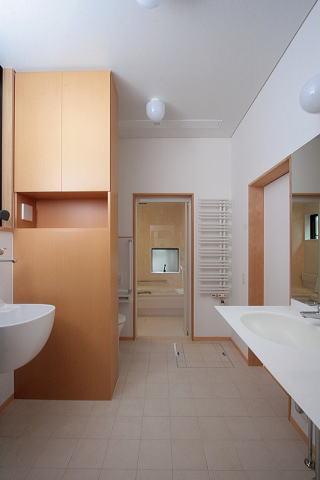 富士見台の家の部屋 洗面台・浴室