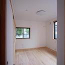 リビング側の入口から 主寝室を望む