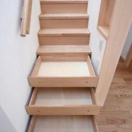 関町北の家 (階段収納)