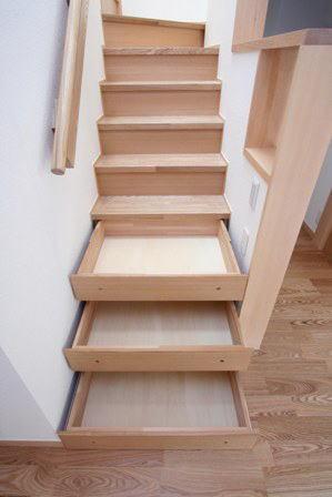 関町北の家の部屋 階段収納