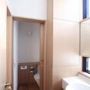 関町北の家の写真 洗面台・トイレ