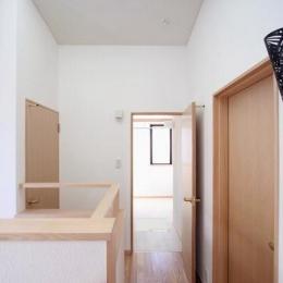 関町北の家 (階段上部)