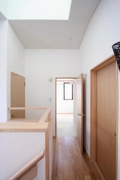 階段上部 (関町北の家)
