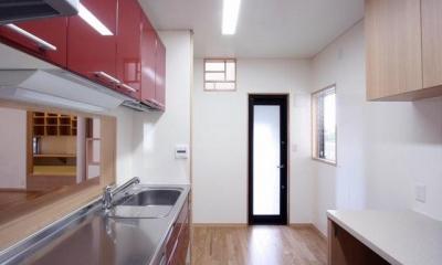 関町北の家 (キッチン)
