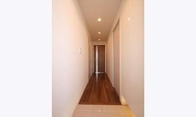 シンプルながらも洗練されたお部屋 (玄関)