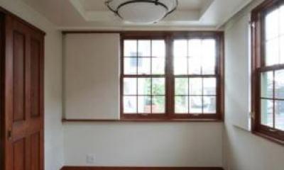 1階の主寝室|八雲の家 ヨーロピアンテイストの小さな家