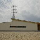 七郷の平屋の写真 白い平屋の外観