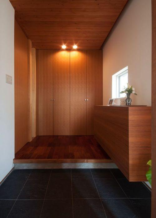 ゴトオリの家の部屋 しっかり収納の玄関