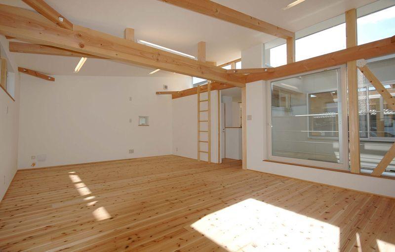 御井の家の部屋 ナチュラルな空間