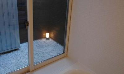 御井の家 (バスコートのあるお風呂)