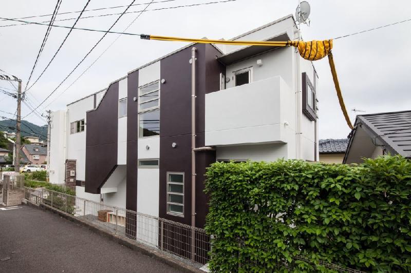 T 様邸 「鉄筋コンクリートの家」 (北側外観)