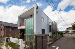T 様邸 「鉄筋コンクリートの家」 (外観)