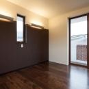 T 様邸 「鉄筋コンクリートの家」の写真 寝室