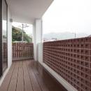 T 様邸 「鉄筋コンクリートの家」の写真 バルコニー
