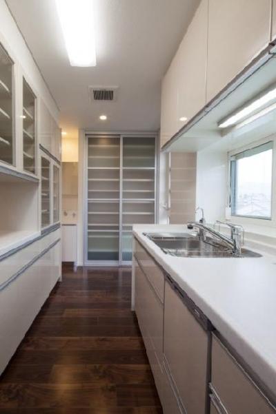 T 様邸 「鉄筋コンクリートの家」 (キッチン)