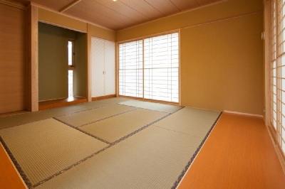 和室 (T 様邸 「鉄筋コンクリートの家」)