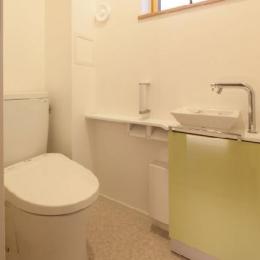 T 様邸 「鉄筋コンクリートの家」 (トイレ)