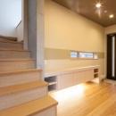 T 様邸 「鉄筋コンクリートの家」の写真 玄関・ギャラリーホール