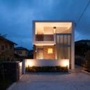 T 様邸 「鉄筋コンクリートの家」の写真 外観夜景