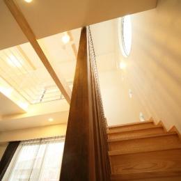 H 様 邸  「KASO HOUSE」 (階段)
