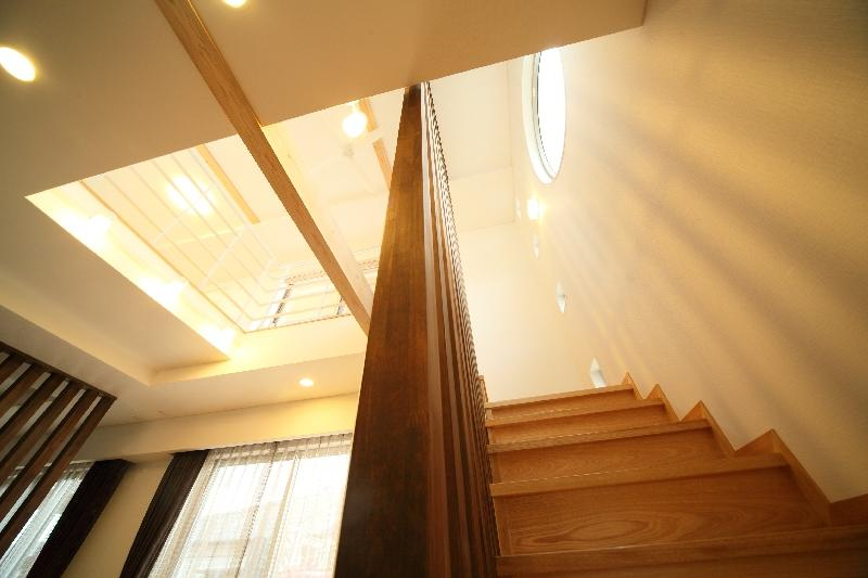 H 様 邸  「KASO HOUSE」の部屋 階段