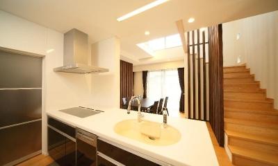 キッチン|H 様 邸  「KASO HOUSE」