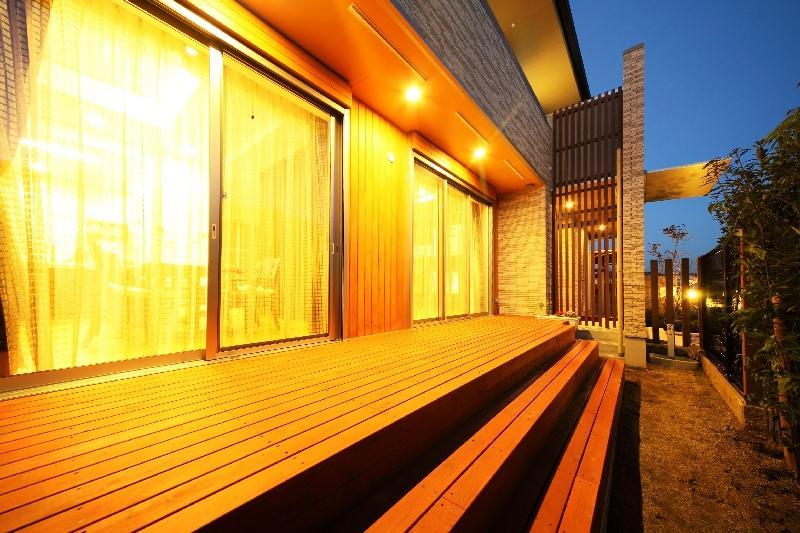 H 様 邸  「KASO HOUSE」の写真 屋外デッキ