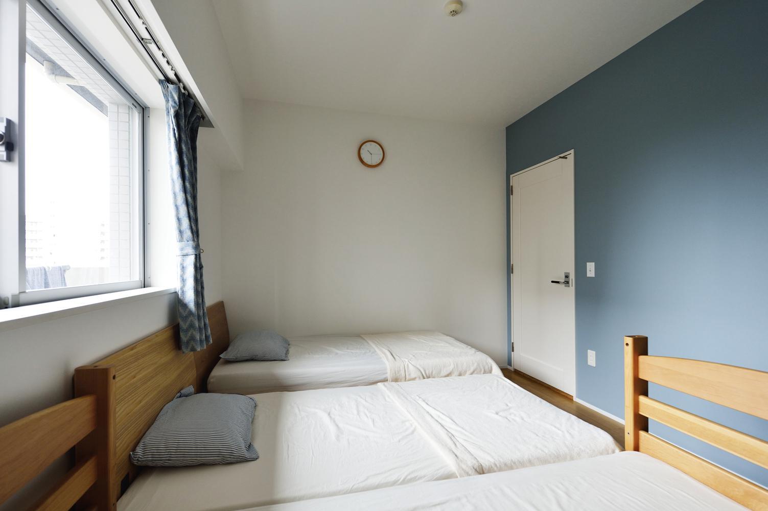 N邸・素足が気もち良い 広々リビングの部屋 ベッドルーム