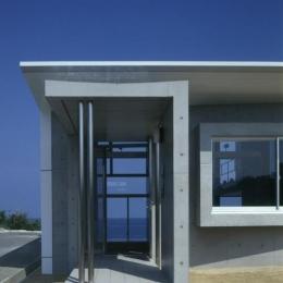 室津・海の家 (海が見える玄関)