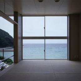 室津・海の家 (海が一望できる和室)