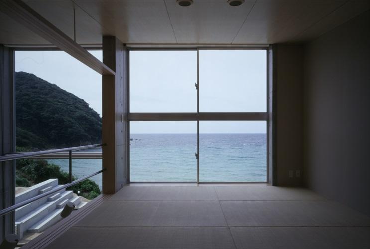 室津・海の家の部屋 海が一望できる和室