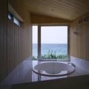 室津・海の家の写真 円形浴槽のジャグジーバス
