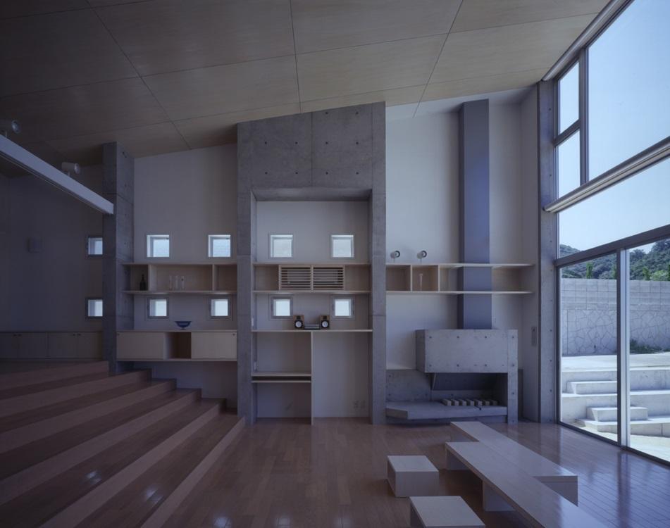 建築家:中辻正明「室津・海の家」