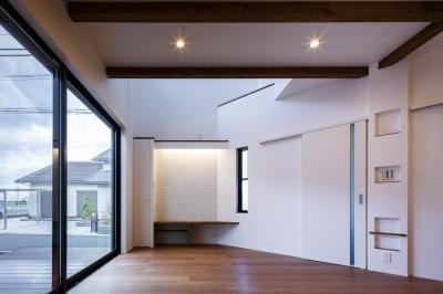 oyako house (リビング)