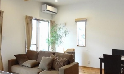 杉無垢の温かさと共に心地よく暮らす家