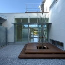 橋本設計室の住宅事例「水盤のある家」