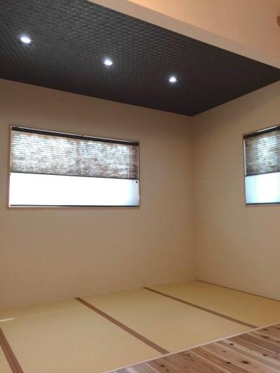 畳スペース (ロフトのある家)