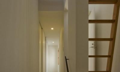 中ノ江の家 (階段)