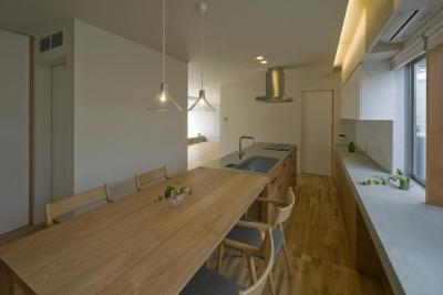 キッチン2 (星見ヶ丘の家)