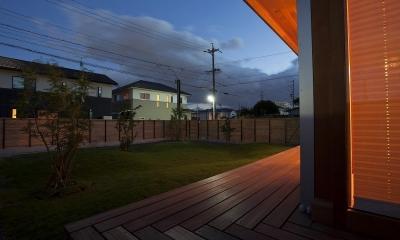 大門の家 (庭)