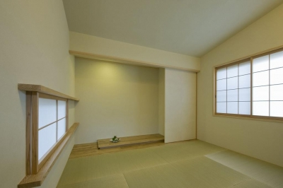和室 (割田の家)
