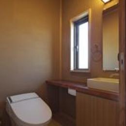 越谷の家 (トイレ)
