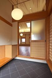越谷の家 (内玄関)