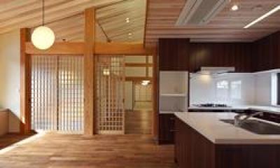 越谷の家 (ダイニング・キッチン)