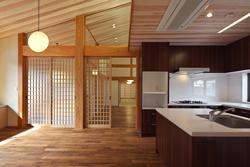 越谷の家の部屋 ダイニング・キッチン