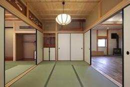 越谷の家 (続きの間・仏壇)